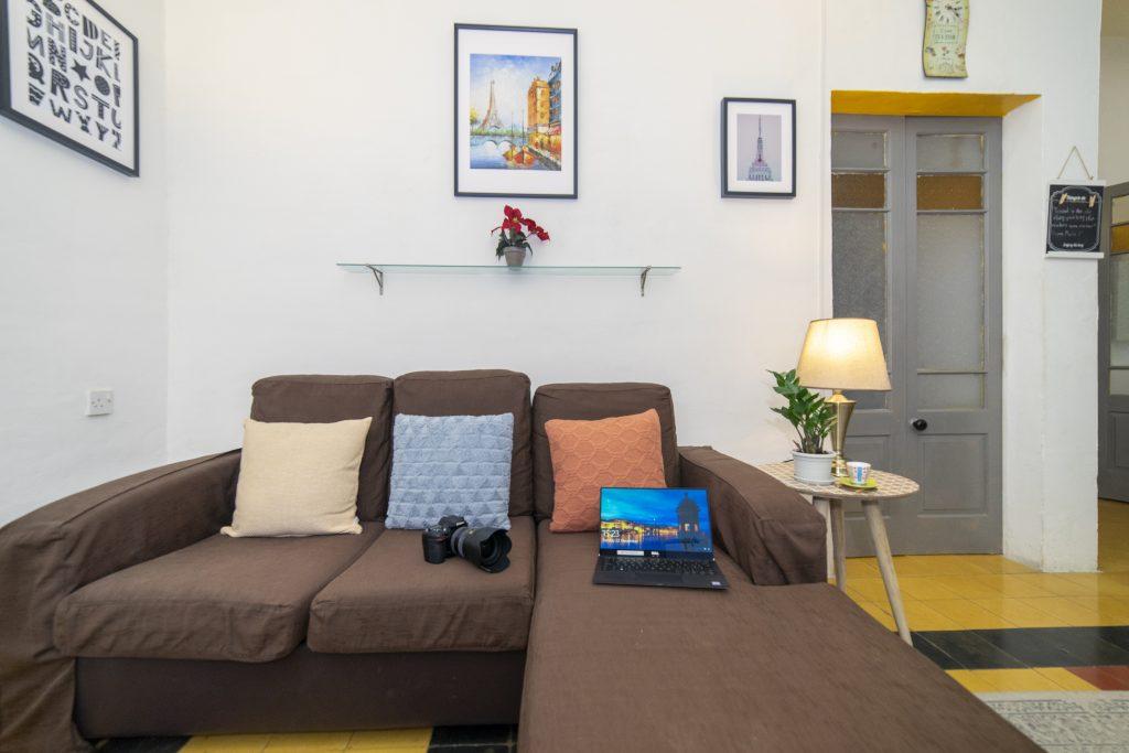 living room of sliema boutique apartment