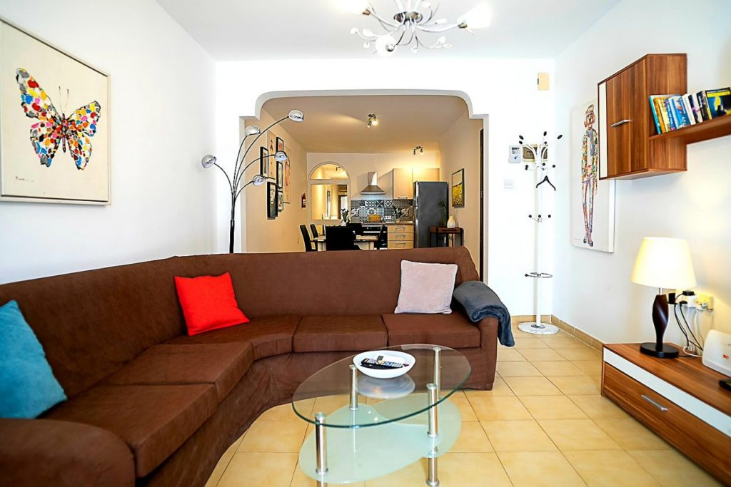 Seaside Apartments Malta Mellieha 1 - living room