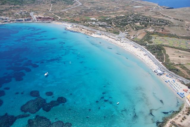 Seaside Apartments Malta Mellieha 1 - location