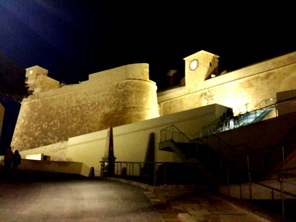 The Citadella fortress in Victoria Gozo, the island of Calypso