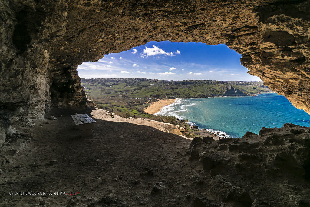 The Cave of Calypso on the island of Gozo