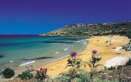 Rambla Bay in Gozo - Island of Calypso