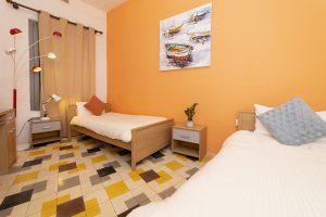 second bedroom in Sliema boutique apartment